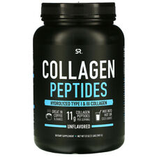 Collagen Peptides Type I & III Unflavored by Sports Research 2 Lbs 82 Serves