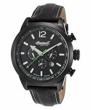 Ingersoll 3220Bbk Men's Limited Edi Taos Automatic Black Genuine Leather Watch
