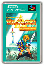 THE LEGEND OF ZELDA A LINK TO THE PAST SUPER FAMICOM SNES FRIDGE MAGNET IMAN NEV