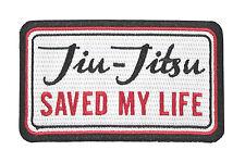 Jiu Jitsu BJJ Gi Patch JIU-JITSU SAVED MY LIFE Jiu Jitsu Gift IRON-ON Stocking