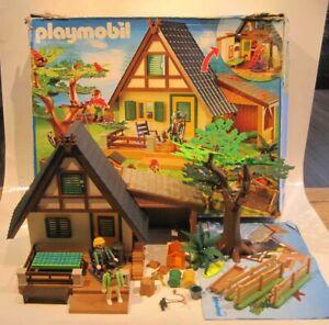 Playmobil Famobil Casa campo granja 4207 cabaña cazador bosque