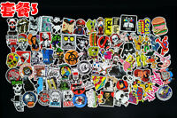 100 pcs fashion sticker pvc Motor Graffiti Skate Skateboard Laptop Luggage Decal