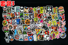 100 pcs fashion sticker pvc Motor Graffiti Skate Skateboard Laptop Luggage Decal