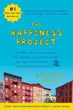 THE HAPPINESS PROJECT Gretchen Rubin FREE SHIPPING paperback book health happy