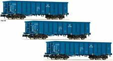 Fleischmann Spur N 852329 Set mit 3 offenen Güterwagen Eaos der PKP