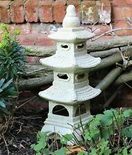 LARGE Garden Ornament Chinese Pagoda Japanese Lantern decor 65cm - BOXED