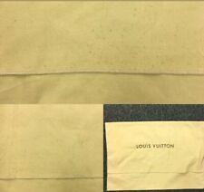 Authentic LOUIS VUITTON Fold Over Dust Bag 10pcs