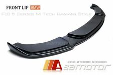 BMW 5-Series F10 M Tech Bumper H Style Carbon Fibre Front Lip Spoiler Splitter