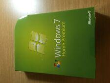 Microsoft Windows 7 Home Premium Upgrade 32 & 64 Bit DVDs