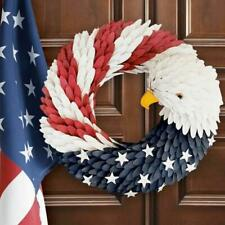 Vote President American Eagle Wreath Patriotic Wreath for Front Door Election