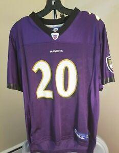Baltimore Ravens NFL Reebok Purple Ed Reed #20 Youth XL Jersey