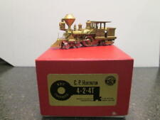 HO Brass C.P. Huntington Locomotive by key Imports