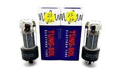 TUNG-SOL 6V6GT 6V6 MATCHED PAIR VACUUM TUBES TESTED!
