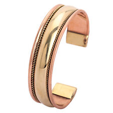 Rose Gold Bio Bracelet Copper Magnetic Therapy Healing Arthritis Pain Relief