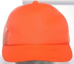 Northwest Territory Safety Orange Hunting Trucker Hat - Ya Youngan Snapback Cap