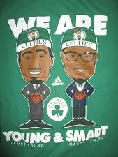 """JAMES YOUNG & MARCUS SMART """"We Are Young & Smart"""" BOSTON CELTICS (SM) T-Shirt"""