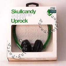 Skullcandy Supreme Sound Uprock Headphones in Rasta/Green/Black - New