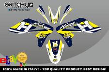KIT ADESIVI GRAFICHE 2.0 BLUE YELLOW EASY per moto SM 610 dal 2005 al 2010