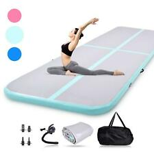 Air Track 10FT Airtrack Inflatable Floor Gymnastics Tumbling Mat Training GYM