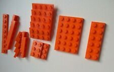 18 x LEGO PLATES ** ORANGE ** MIXED SIZES  VGC