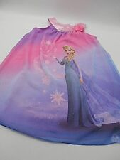 Girl's Disney Jumping Beans Brand Frozen Elsa Dress Pink and Purple Size 6 NWT