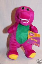 "NEW WITH TAG BARNEY THE PURPLE DINOSAUR PLUSH 7 1/2"" FISHER PRICE 2003 DOLL"