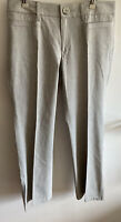Banana Republic Martin Fit NWOT Light Gray Pants Size 10R X 31 Women's
