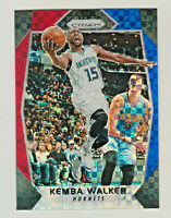 2017-18 Panini Prizm RED WHITE BLUE STARBURST #231 KEMBA WALKER Boston Celtics