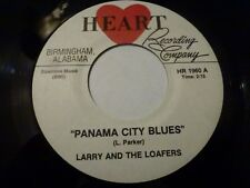 LARRY AND LOAFERS 'PANAMA CITY BLUES' ALABAMA ROCKABILLY GARAGE MOD SOUL SURF 45