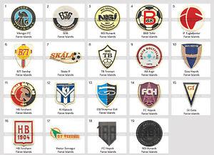 Badge Pin: European football clubs Faroe Islands