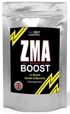 ZMA TABLETS POWER MUSCLE GROWTH + STRENGTH TESTOSTERONE BOOSTER TEST