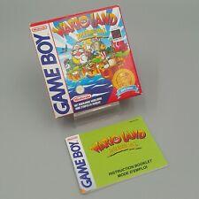 ⚡ Wario Land Super Mario Land 3 - OVP Anleitung - Nintendo GameBoy Classic FAH