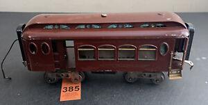 Lionel Standard Gauge 181 Maroon Pullman Baggage Car NYC Lines Train Car