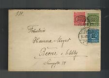 1920 Flensburg Upper Silesia Cover to Berne