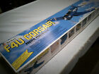 VINTAGE TOPFLITE F4U CORSAIR .60 WITH COCKPIT KIT PREOWNED IN BOX NONSTARTED