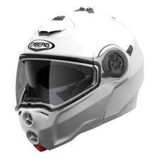 Casco modulare apribile moto Caberg Droid Bianco taglia M doppia omologazione