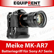 Meike MR-AR7 Batteriegriff mit Fernbedienung für Sony A7 A7S A7R DSLM (EQM70)