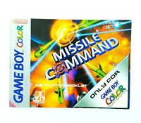 Notice jeu Nintendo Game Boy Color : Missile Command GBC No jeu