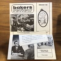 1962 Bakers Review - Donut Machine - Trade Brochure - Vintage Cooking Baking
