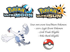 Pokemon Ultra Sun and Moon Movie 21 HA Lugia of the Wind Japan Event w/Hurricane