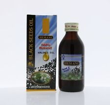 Hemani 100% NATURAL Black Seeds Oil 125ml (Nigella sativa) With Free Gift !!