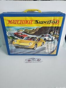 Vintage Matchbox Official Collector's Carry Case Holds 72 Cars with 6 Trays