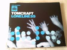 TOMCRAFT - LONELINESS - HOUSE CD SINGLE