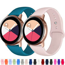 40/42/44mm Belt Bracelet Silicone Sport Band For Samsung Galaxy Watch Active 2