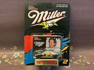 Rusty Wallace #2 Miller Lite 1996 Ford Thunderbird NASCAR Diecast 1/64