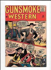 GUNSMOKE WESTERN #53 ==> VF- WYATT EARP VS DOC HALLIDAY MARVEL COMICS 1959