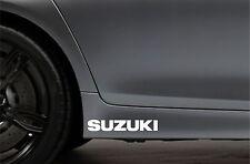2x Side Skirt Stickers fits Suzuki Car Sticker Bodywork JDM Car Decal VK98