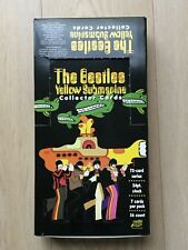 The Beatles Yellow Submarine Trading Cards Collector Sammelkarten Display