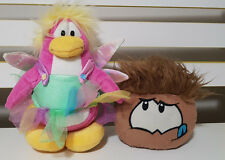 CLUB PENGUIN PLUSH TOYS! FAIRY PENGUIN SOFT TOY AND PUFFLE KIDS TOY! WINGS TUTU!