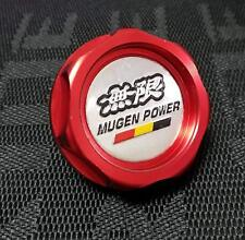 JDM RED MUGEN ENGINE OIL CAP HONDA ACURA INTEGRA MDX CIVIC ACCORD SI CRX S2000